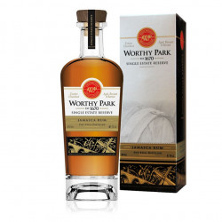 Rhum vieux Worthy Park single estate