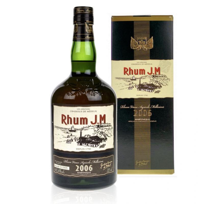 Rhum JM hors d'âge millésime 2004